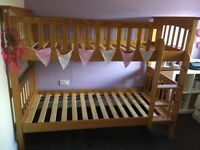 Pine bunk beds. Marks and spencer. Excellent condition