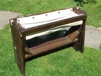 Folding officers campaign bed from WW1