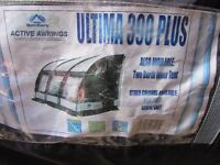 Porch awning Suncamp Ultima 390 plus 2 berth inner ten, not an air awning but poles