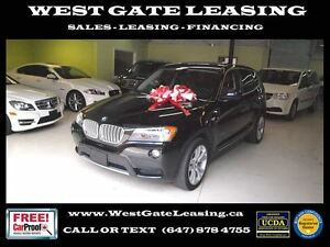 2011 BMW X3 xDrive35i | NAVIGATION | SUNROOF |