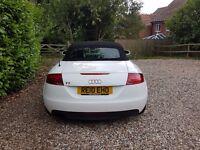 Audi TT TFSI for Sale £7,200 ono. White, 10 Reg, 1.8L, Convertible, Air Con, MOT Feb '18