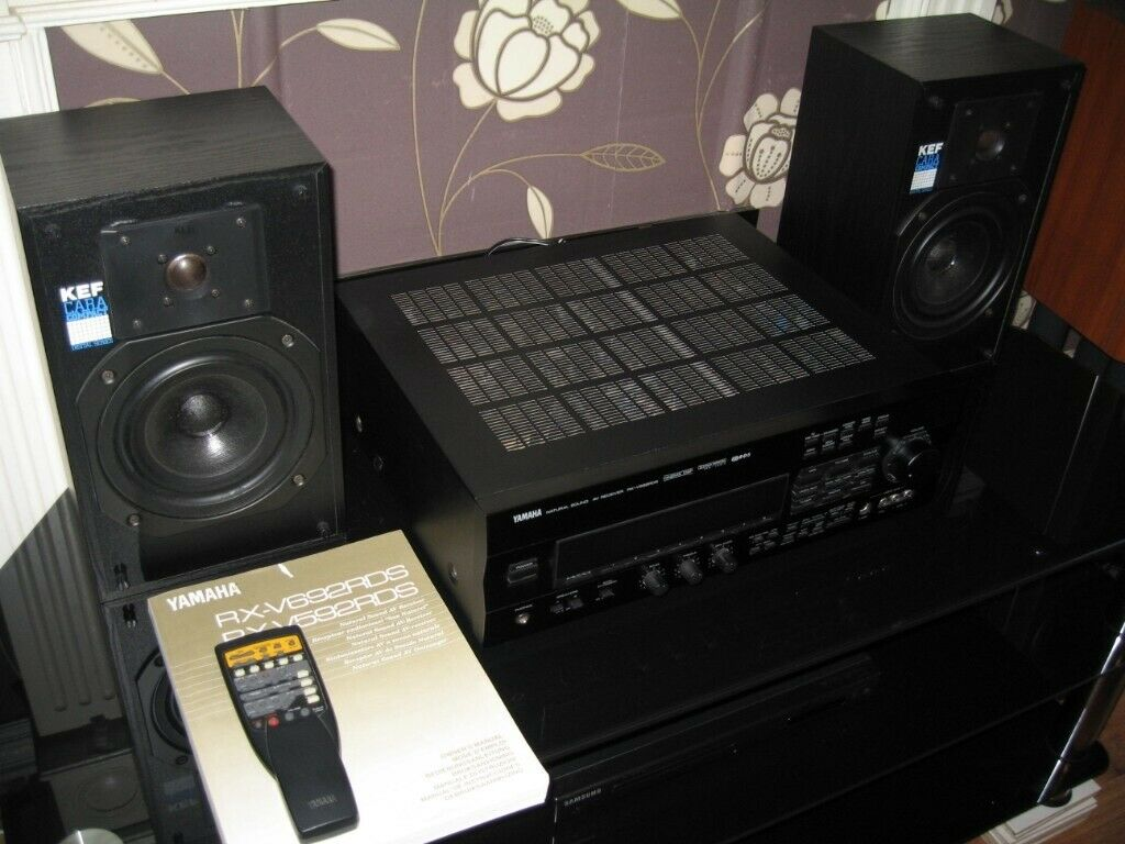 YAMAHA RX-V592RDS Home Cinema Amplifier - Receiver  Excellent condition ,  perfect working order  | in Waltham Cross, Hertfordshire | Gumtree