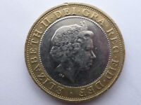£2 coin Commonwealth Games 2002 England, circulated, classed as rare, only £15