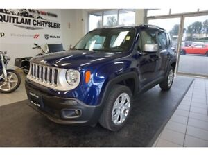2017 Jeep Renegade Limited - Leather, removable top, low km