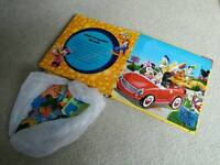 Puzzlebook , toy block, toy steering wheel