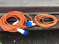 Electric hookup cables