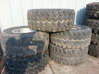 5 wide american racing rims with 33 x 14.5 swampers