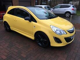 2012 (62) PLATE CORSA 1.2 LIMITED EDITION
