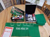 Texas Hold'Em poker sets