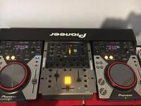 Pioneer DJ decks