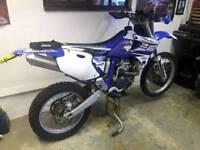 YAMAHA WR 400 ROAD LEGAL MOTOCROSS ENDURO YZF 450 400F WRF WR400 250 426