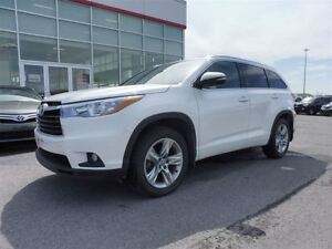 2016 Toyota Highlander * LIMITED * AWD * CUIR * TOIT PANO * GPS
