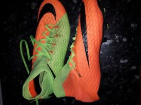 Nike moulded stud football boots