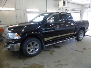 2012 Ram 1500 Laramine, Leather Seating, Sunroof