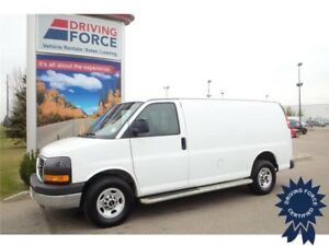 2016 GMC Savana Cargo Van - 4.8L V8 Gas - 25,524 KMs, Seats 2