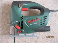 BOSCH JIGSAW (PST 700 PE) with carry case