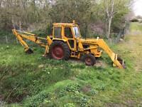 David brown 990 ex council , tractor, digger, horse, plant, trailer,