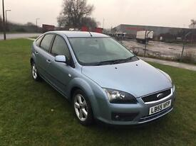 55 REG FORD FOCUS 1.6 ZETEC CLIMATE 5DR-12 MONTHS MOT-GOOD LOOKING CAR DRIVES WELL