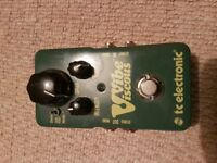 TC Electronic Viscous Vibe pedal for sale