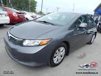 2012 Honda Civic Sdn LX *WoW*35,18$/sem*