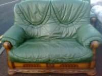 Itailian leather suite