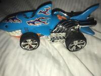 Hot wheels shark car