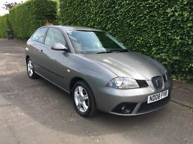 SEAT IBIZA 1.2 REFERENCE, 08 PLATE, ONLY 52000 MILES WITH FULL SERVICE HISTORY, HPI CLEAR