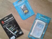 Selection of mobile phone accessories-job lot