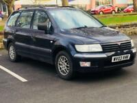 MISTUBUSHI SPACE WAGON 2003*7 SEATER*£999*AUTOMATIC*CHEAP FAMILY CAR*PX WELCOME*DELIVERY