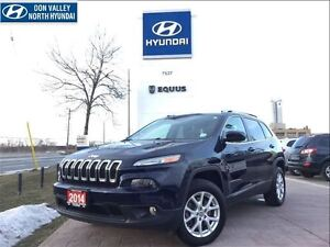 2014 Jeep Cherokee NORTH - 4x4, LCD TOUCH SCREEN INTERFACE