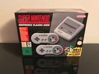 Nintendo Classic Mini: Super Nintendo Entertainment System SNES. Brand New