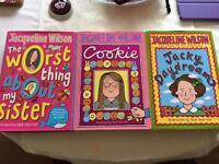 Jacqueline Wilson - 3 books