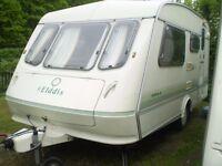 eldiss 2 berth touring caravan