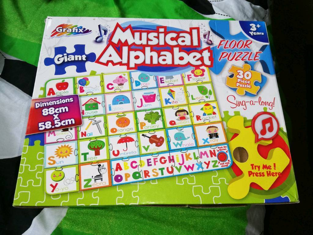 Giant Alphabet Floor Puzzle In Stowmarket Suffolk Gumtree