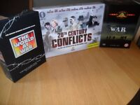 New Box sets of War DVD's .