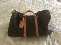 LOUIS VUITTON Authentic Holdall