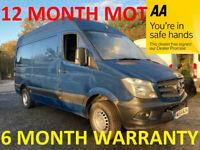Mercedes-Benz, SPRINTER, Panel Van, 2014, Manual, 2143 (cc)***LEASE CO DIRECT***