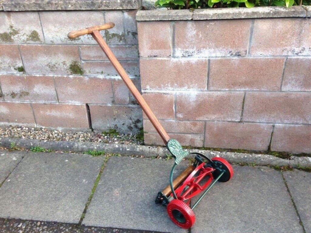 Shanks Brittisher lawnmower