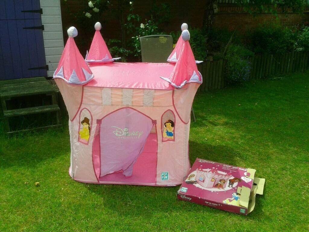 3ff4286d41de Disney princess pop-up play tent Wendy house backpack bag *ONLY £6*