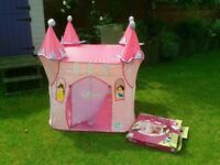 Disney princess pop-up play tent Wendy house