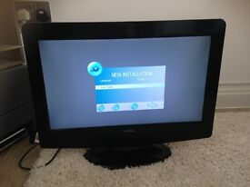 """21.6"""" HD Ready LCD TV with built in freeview"""