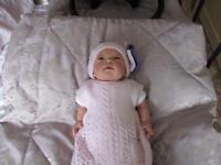 Beautiful tiny reborn baby.