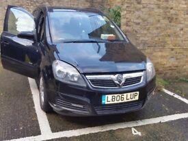 Vauxhall zafira, low mileage, like new