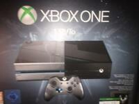 XBOX ONE 1TB halo 5 special edition swaps
