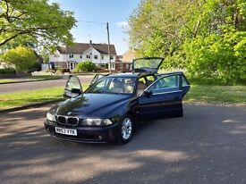 BMW 5 SERIES 525d SE Touring, Automatic, 152000 miles, 2003