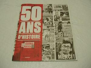 JOURNAL DE MONTREAL 50TH ANNIVERSARY EDITION
