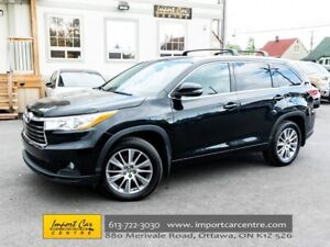 2016 Toyota Highlander XLE AWD 8 PASS LEATHER ROOF NAV BK.CAMERA