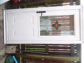 composite back door with 1 key £40