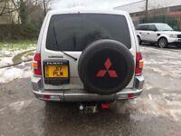 MITSUBISHI PAJERO SHOGUN 3.2 DI-D AUTO 7 SEATS SAT NAV JAP IMPORT FULL MOT TINTED TOW BAR PX SWAPS