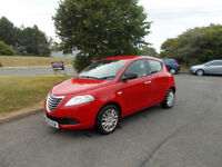 CHRYSLER YPSILON S HATCHBACK 1.2 RED NEW SHAPE 2012 ONLY 68K MILES BARGAIN £2150 *LOOK* PX/DELIVERY